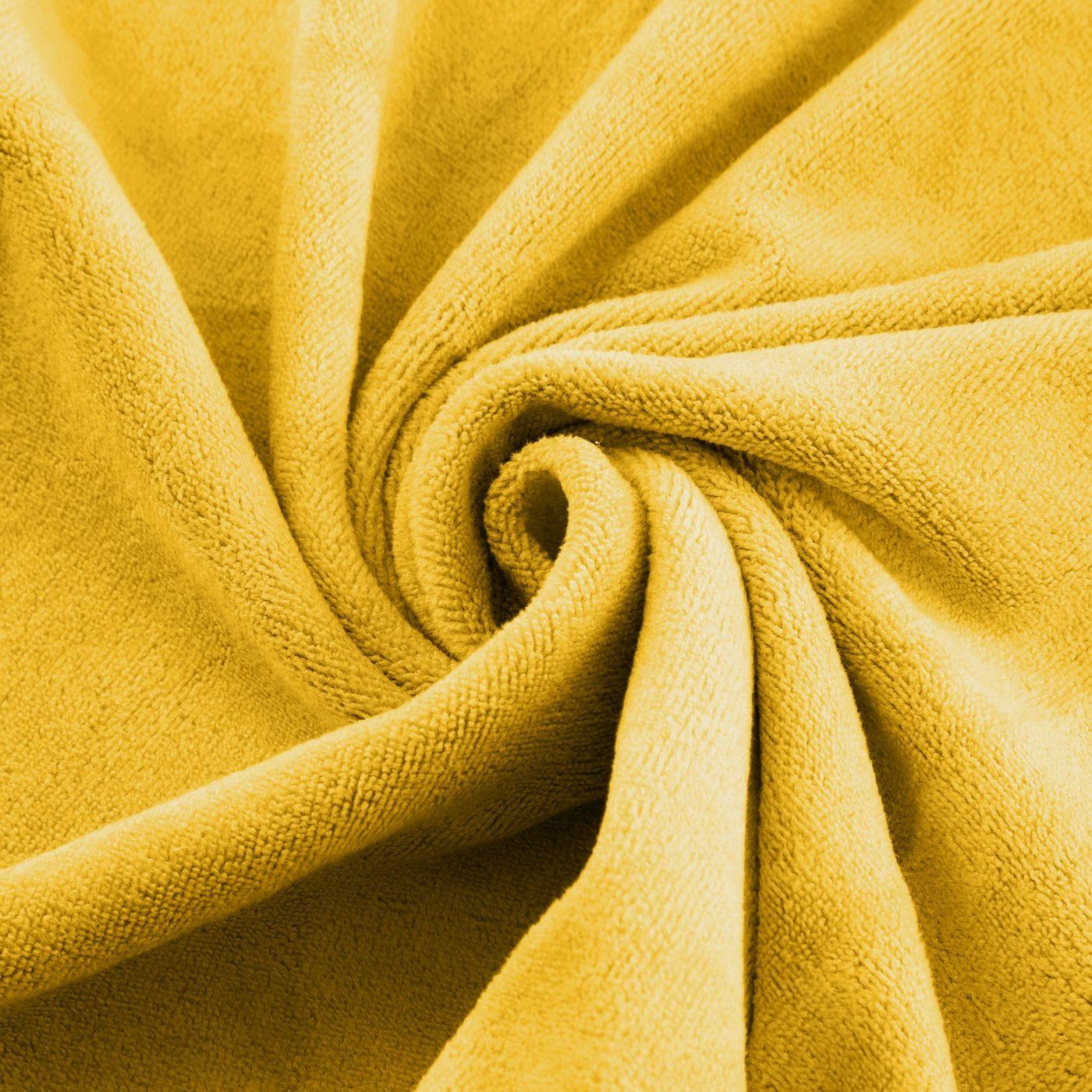 Ręcznik z mikrofibry szybkoschnący musztardowy 30x30cm