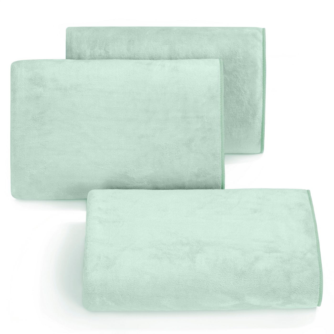 Ręcznik z mikrofibry szybkoschnący miętowy 50x90cm