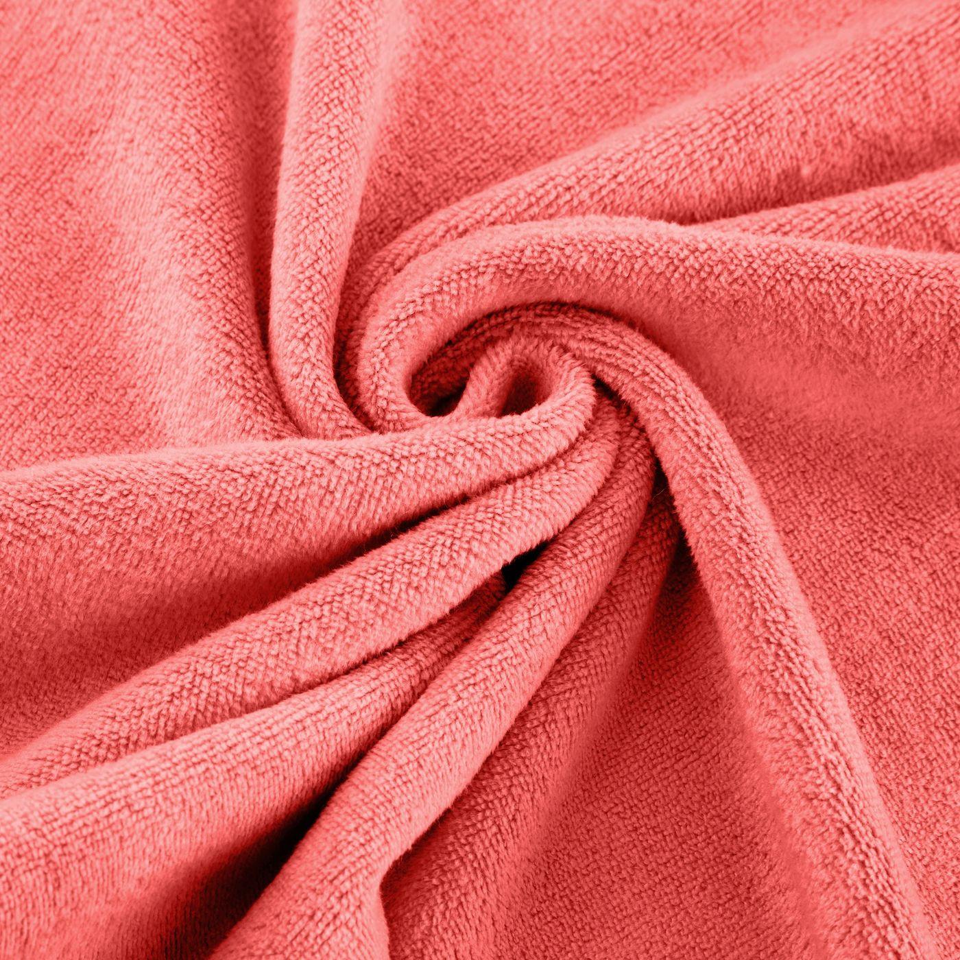 Ręcznik z mikrofibry szybkoschnący koralowy 50x90cm