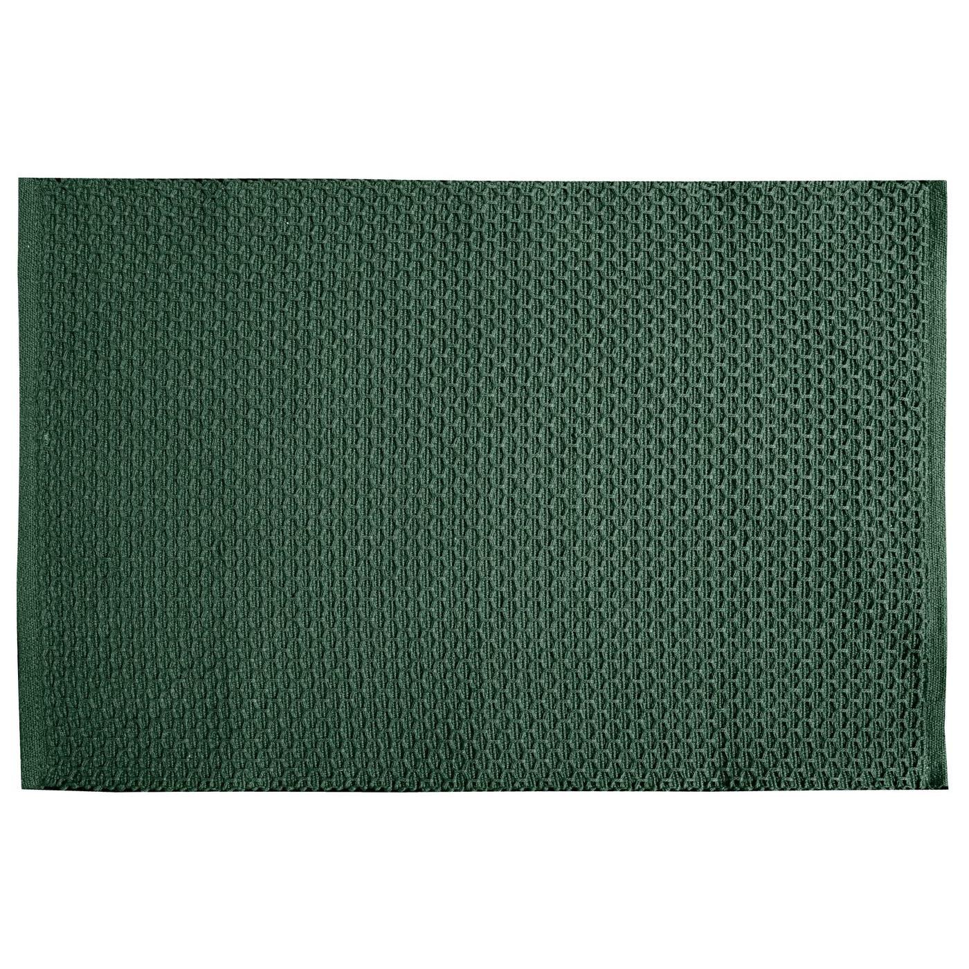Jednokolorowa podkładka stołowa plaster miodu zielona 33x48 cm