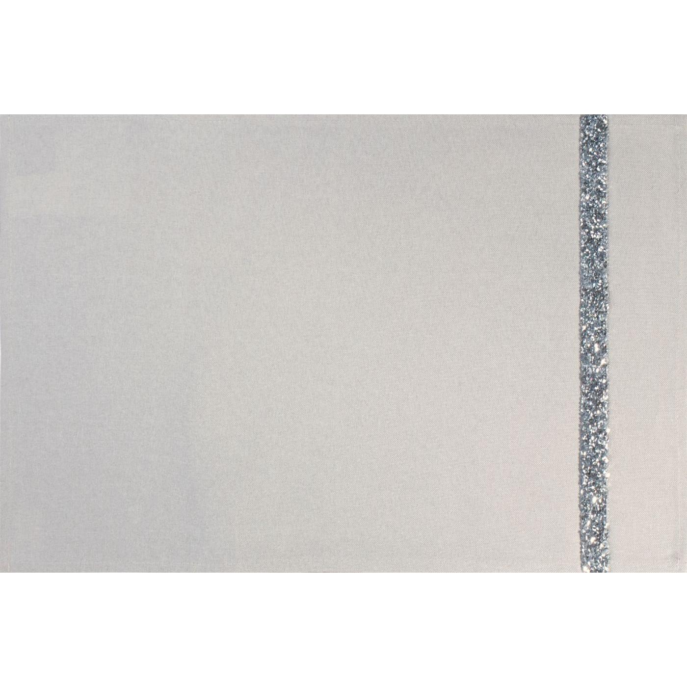 Kremowa nakładka na stół do jadalni 30x50 cm