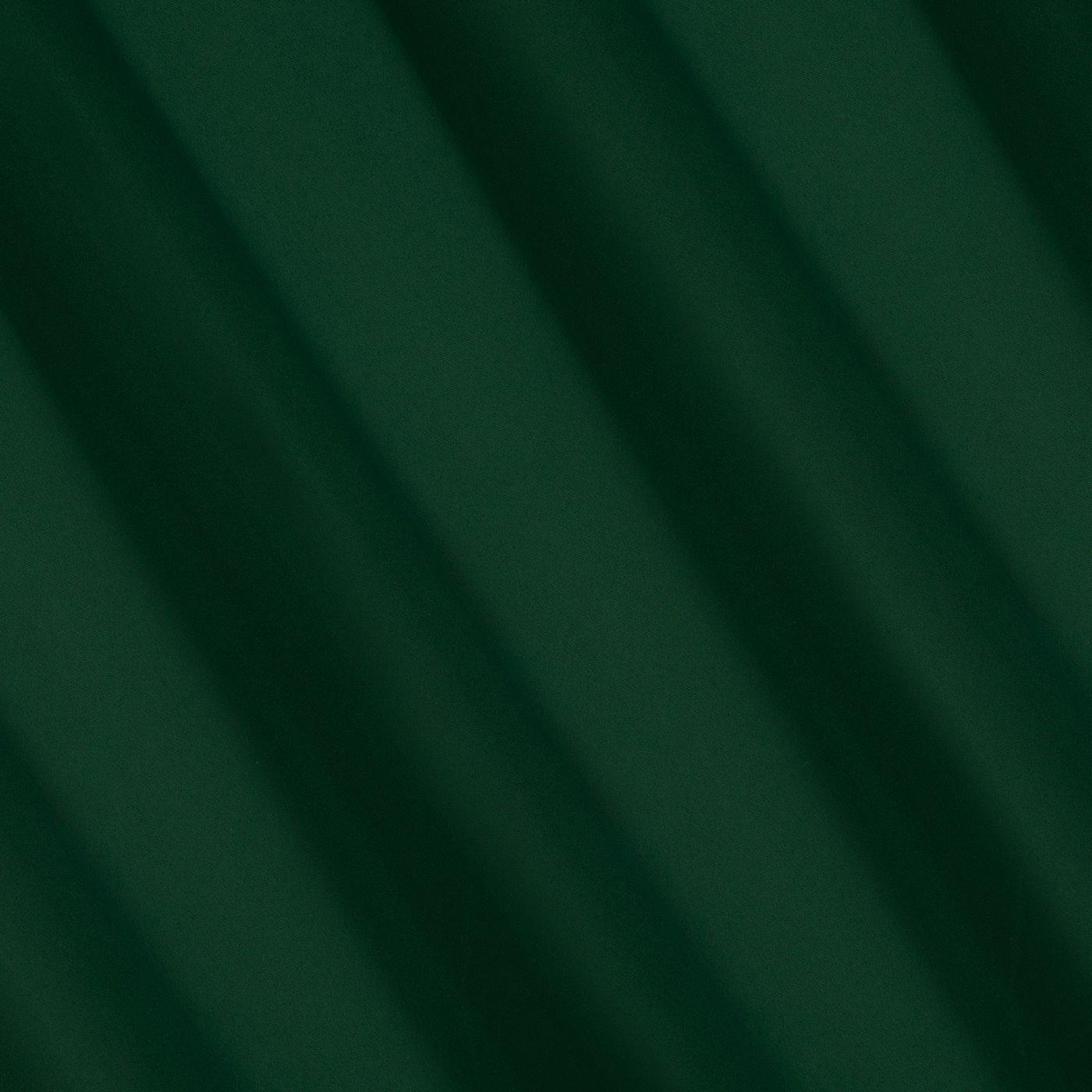 Ciemnozielona zasłona zaciemniająca 135x250 przelotki