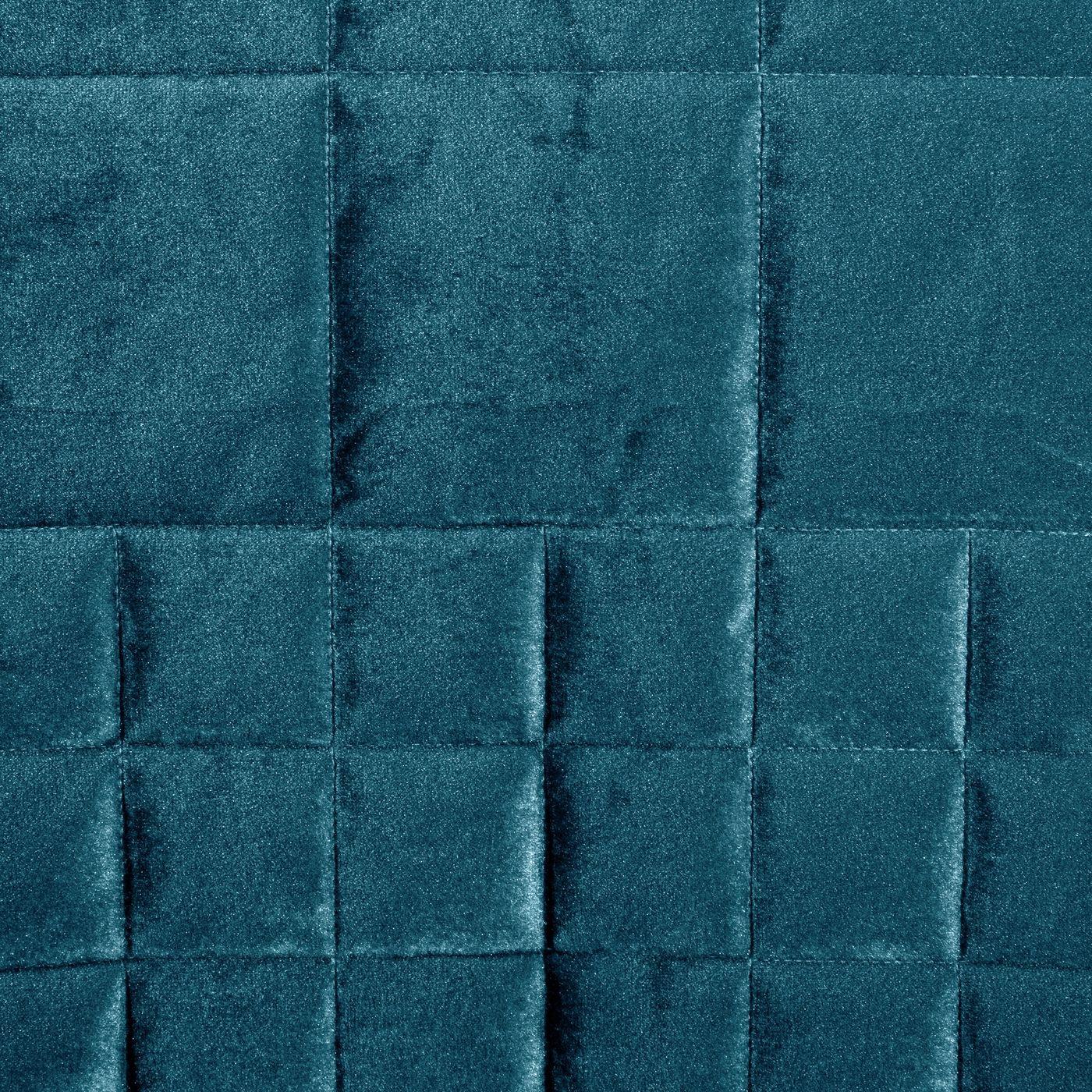 Pikowana narzuta do sypialni - mój wybór Eva Minge - turkusowa 220x240 cm
