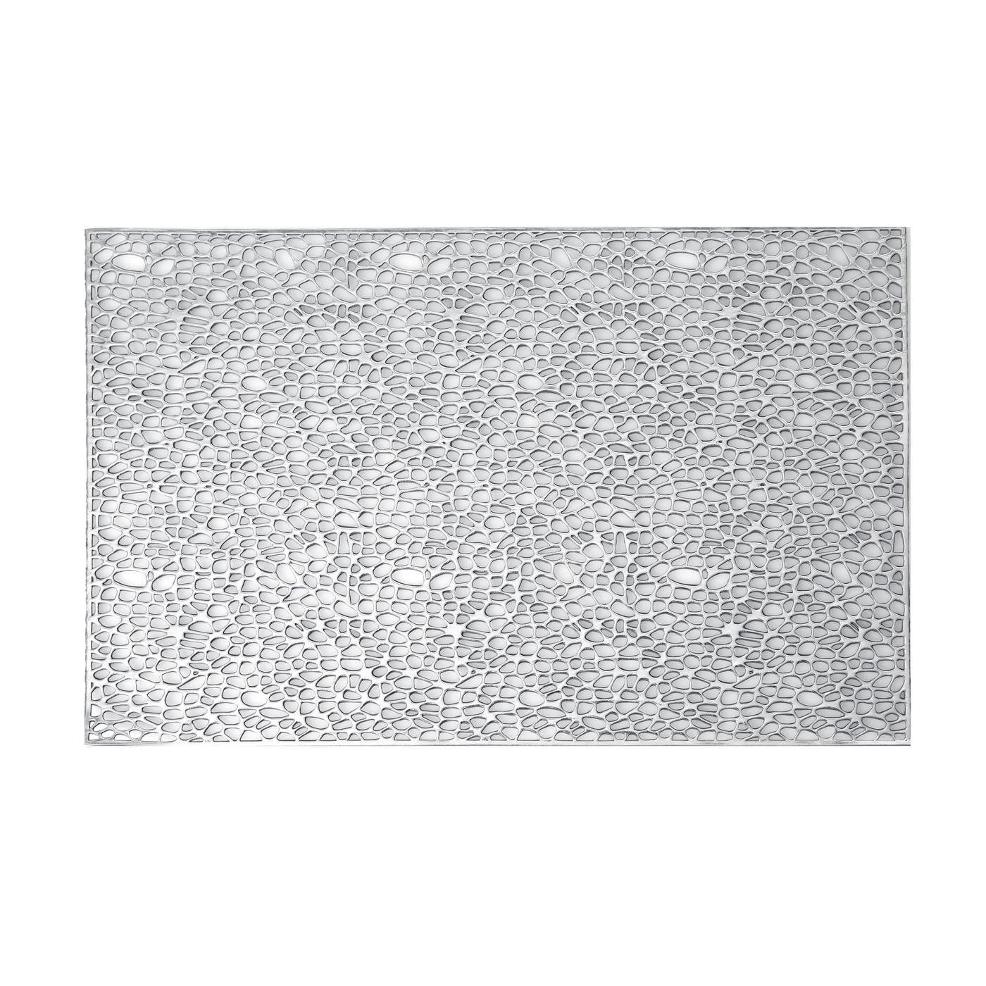 Srebrna ażurowa podkładka stołowa 46x30,5 cm