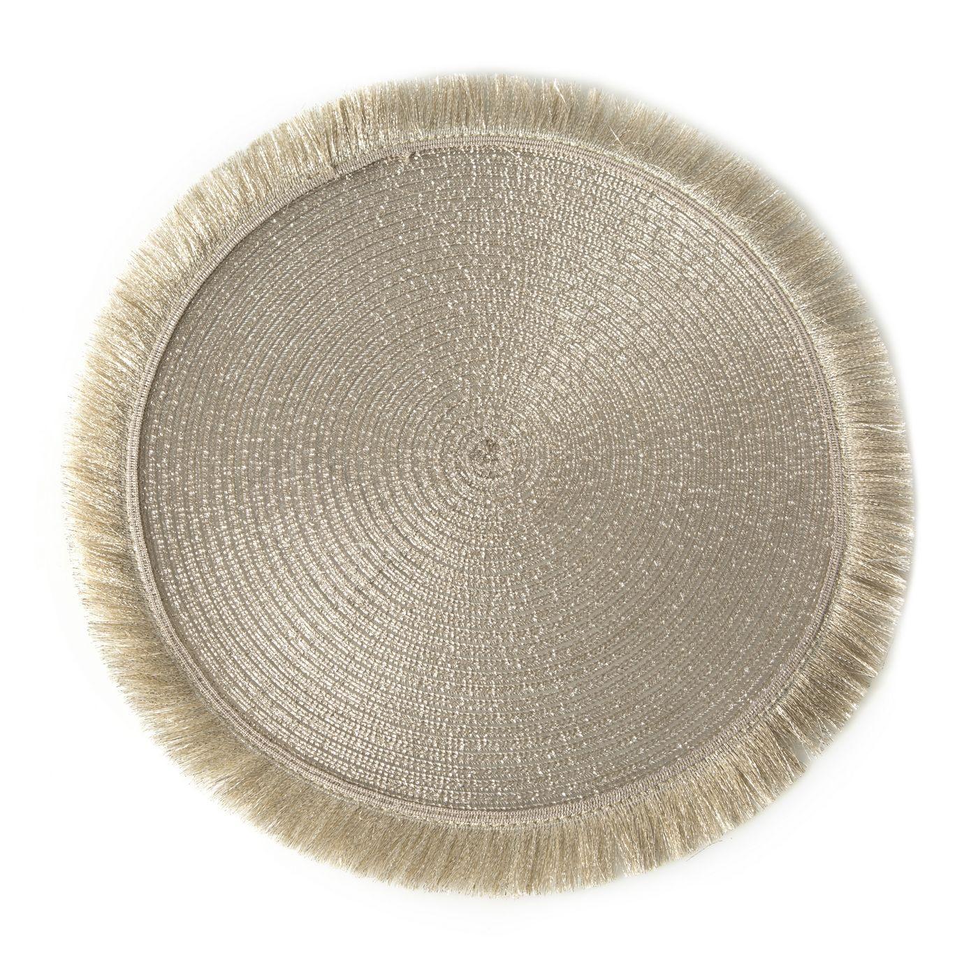 Szampańska podkładka stołowa okrągła średnica 38 cm