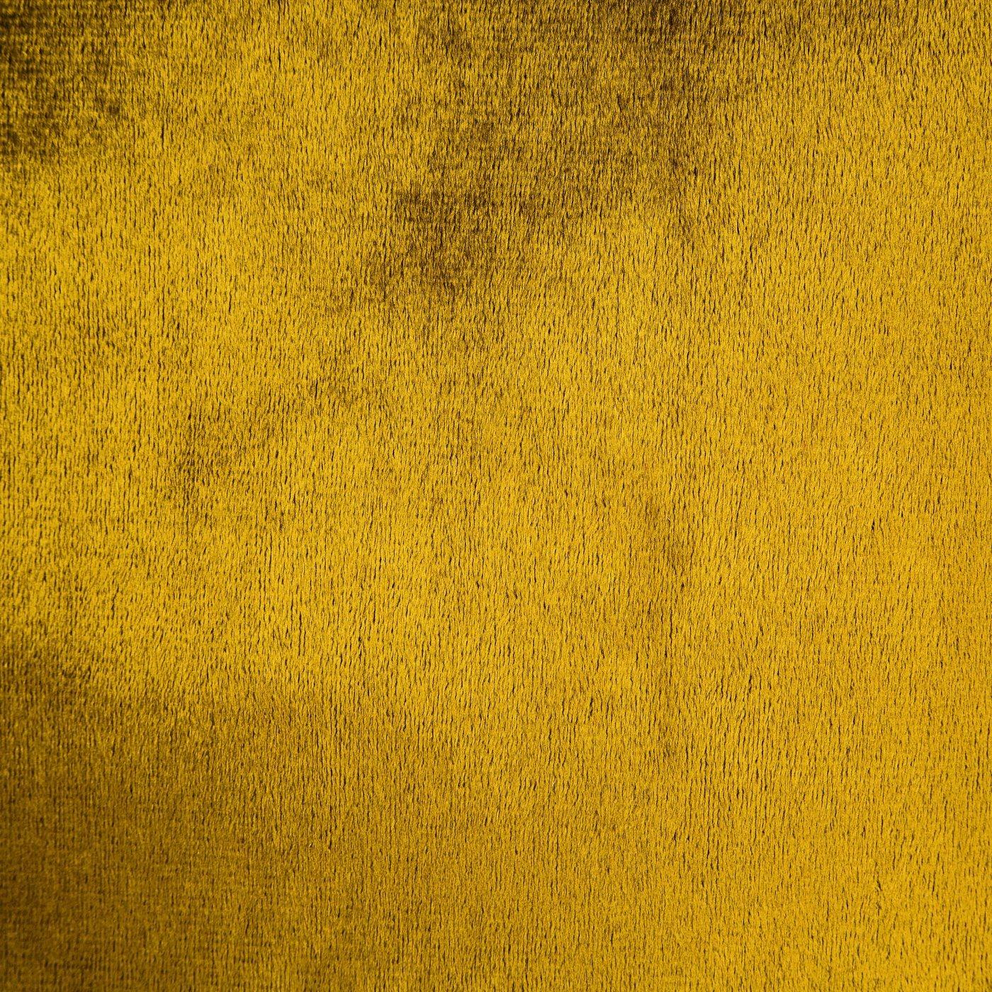 Zasłona WELWETOWA na przelotkach MUSZTARDOWA 140x250