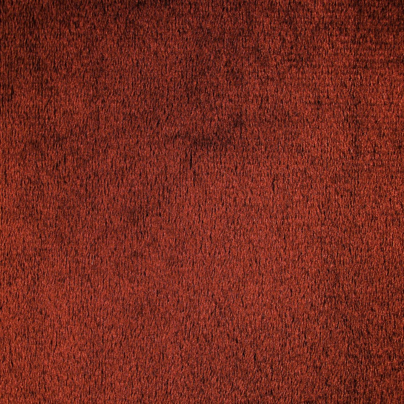 Zasłona WELWETOWA na taśmie CEGLASTA 140x270