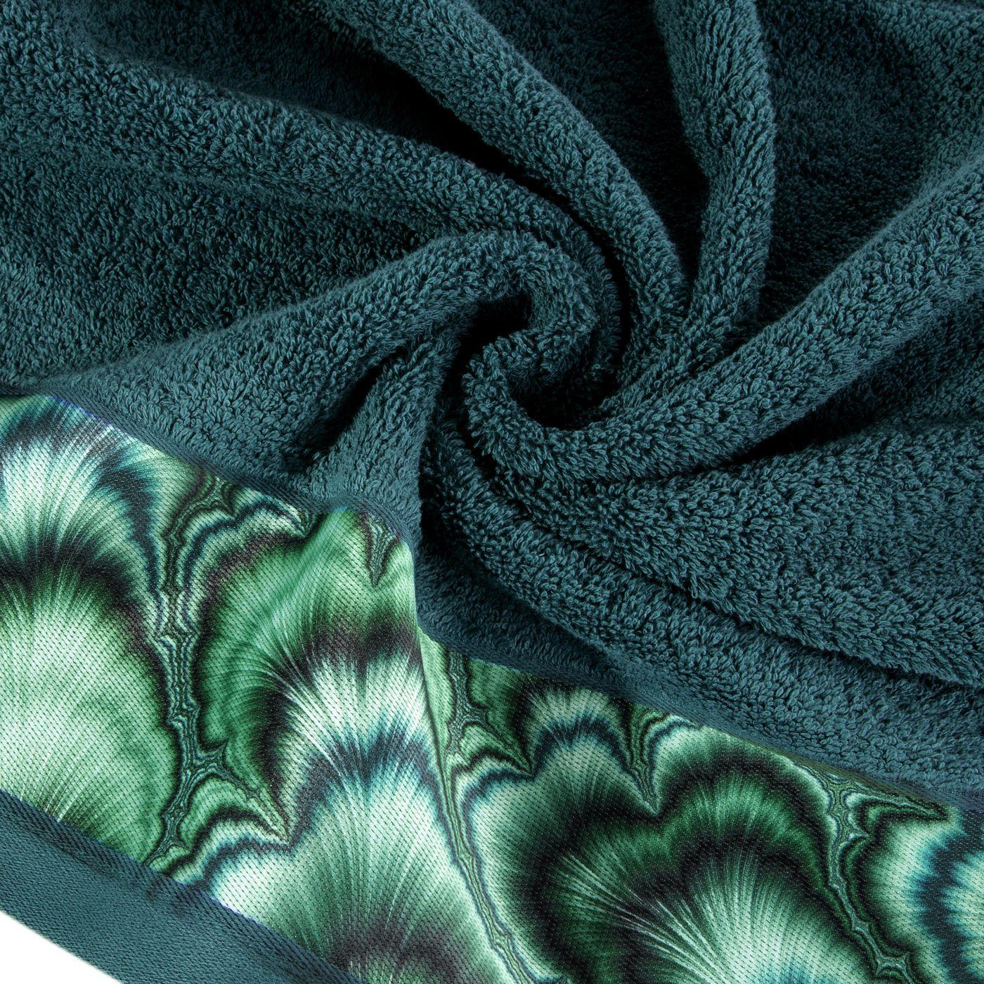 Turkusowy ręcznik kąpielowy - mój wybór Eva Minge 50x90 cm