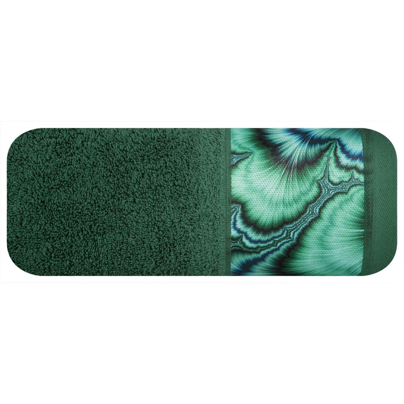 Zielony ręcznik kąpielowy - mój wybór Eva Minge 50x90 cm