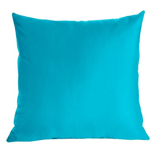 Poszewka dekoracyjna na poduszkę  70 x 80 Kolor Turkusowy - 70x80