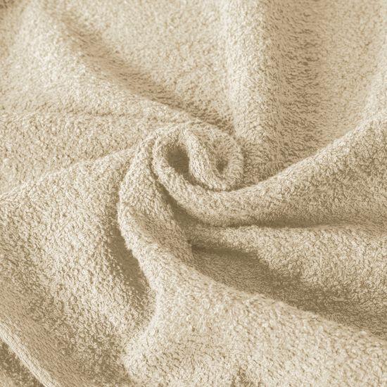 Gładki ręcznik kąpielowy beżowy 70x140 cm - 70 X 140 cm