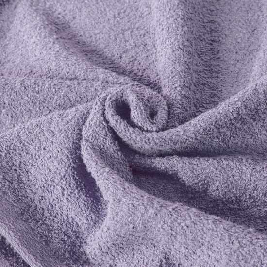 Ręcznik z bawełny gładki wrzosowy 70x140cm - 70x140
