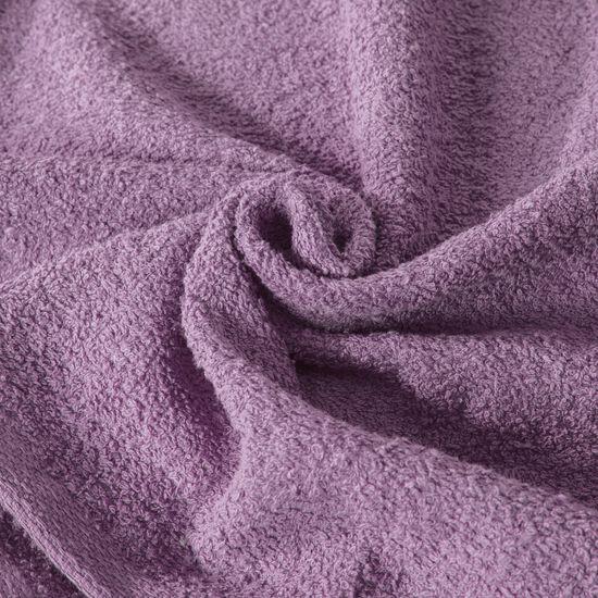 Ręcznik z bawełny gładki fioletowy 70x140cm - 70x140