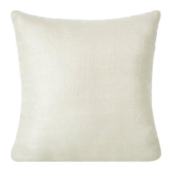 Poszewka na poduszkę 40 x 40 cm kremowa - 40 X 40 cm