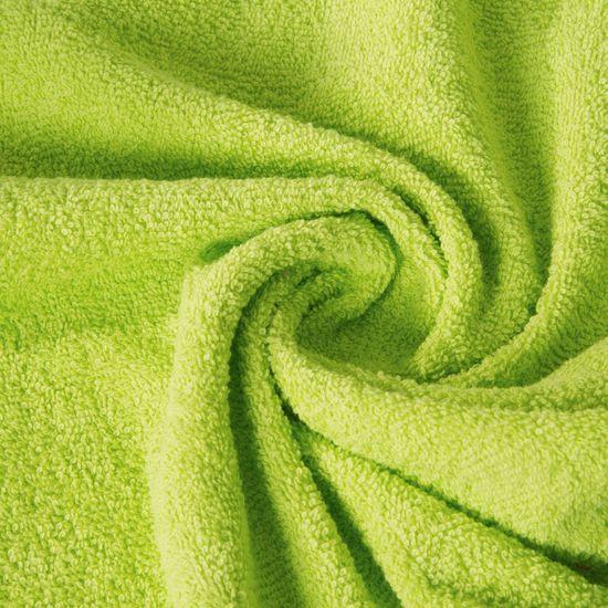Ręcznik z bawełny gładki sałata 50x90cm - 50x90