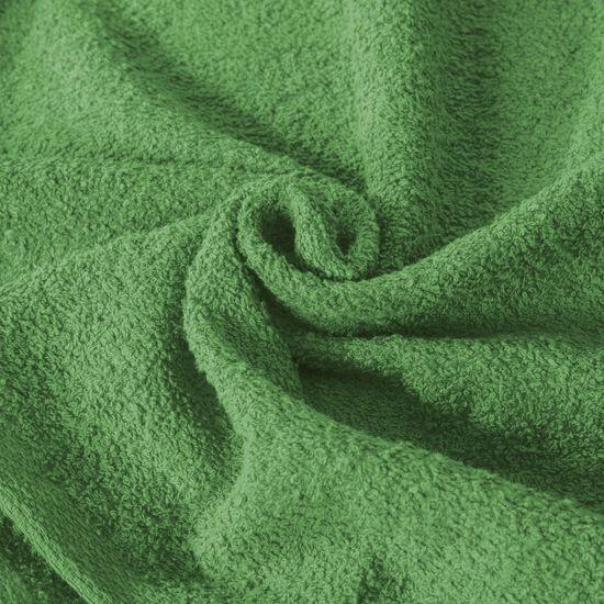 Ręcznik z bawełny gładki zielony 50x90cm - 50x90