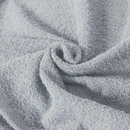 Ręcznik z bawełny gładki błękitny 50x90cm - 50x90