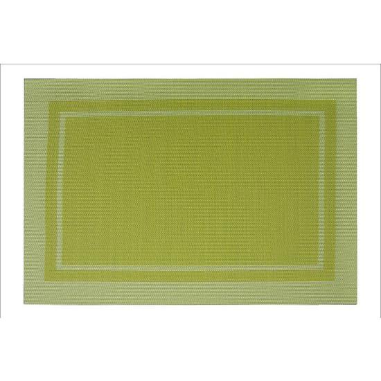 Zielona podkładka stołowa klasyczna 30x45 cm - 30 X 45 cm - jasnozielony