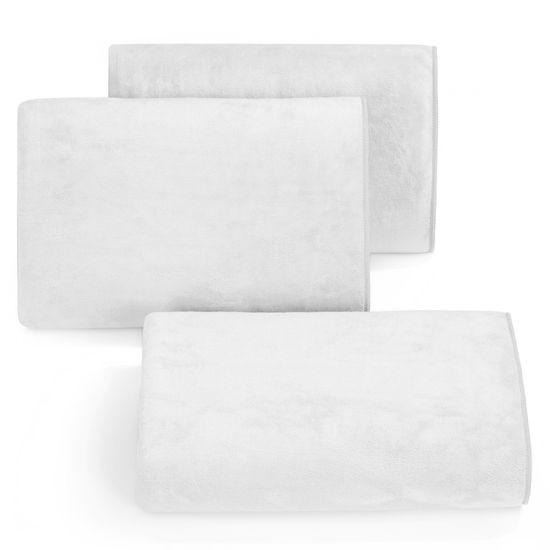 Ręcznik z mikrofibry szybkoschnący biały 70x140cm  - 70 X 140 cm