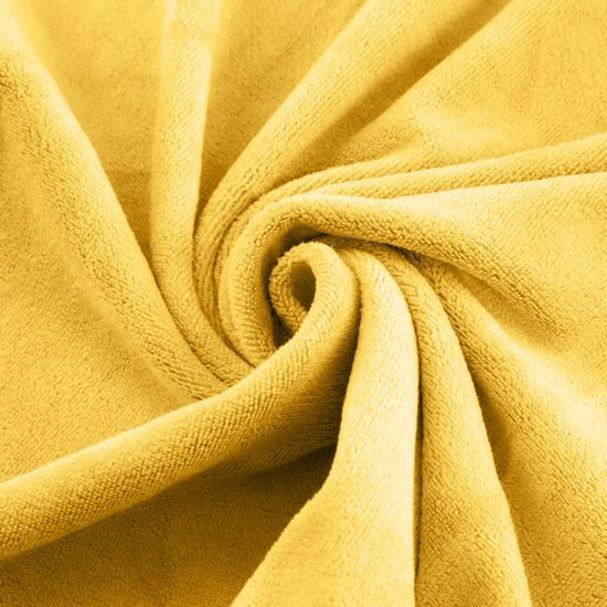 Ręcznik z mikrofibry szybkoschnący żółty 30x30cm - 30x30