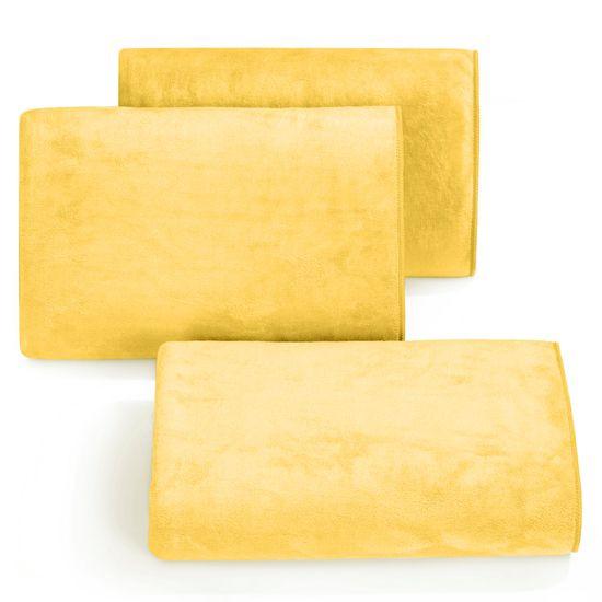 Ręcznik z mikrofibry szybkoschnący żółty 50x90cm  - 50 X 90 cm