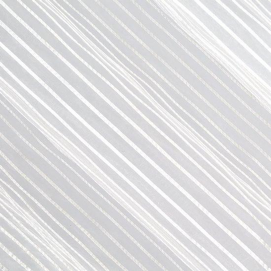 Zasłona subtelne paseczki kremowy przelotki 140x250cm - 140 X 250 cm