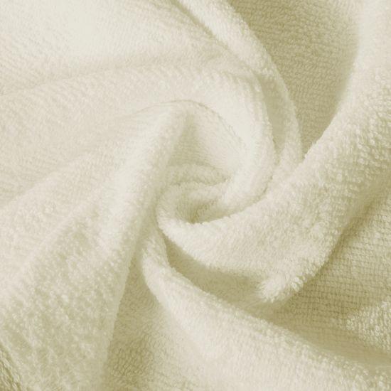 Ręcznik z bawełny gładki kremowy 30x50cm - 30x50