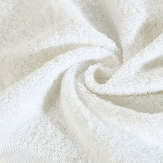 Ręcznik bawełniany gładki biały 50x90cm - 50x90