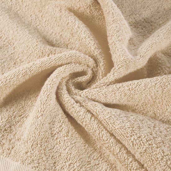 Ręcznik bawełniany gładki beżowy 50x90 cm - 50 X 90 cm