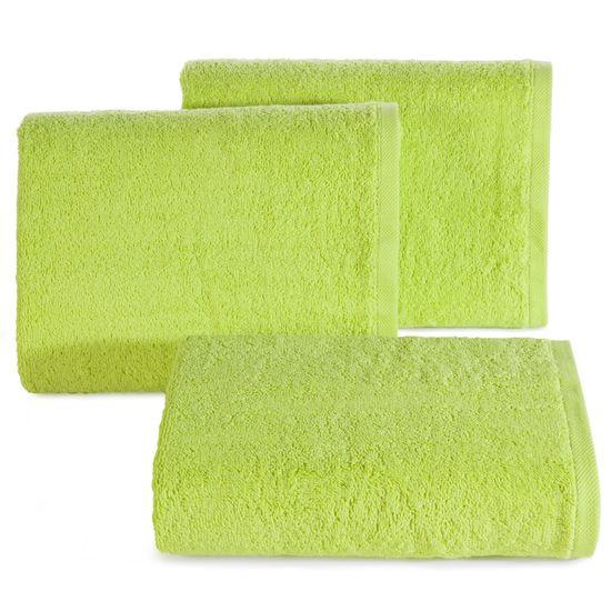Ręcznik gładki w kolorze jasnozielonym 70x140cm - 70 X 140 cm - zielony