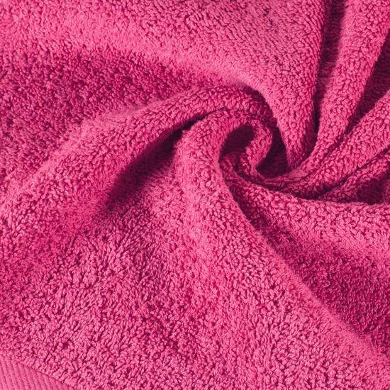 Ręcznik bawełniany gładki różowy 50x90 cm - 50x90