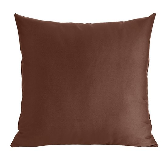 Poszewka dekoracyjna na poduszkę  50 x 60 Kolor Brązowy - 50x60 - brązowy