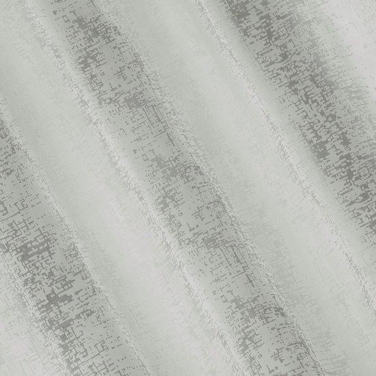 Zasłona z marmurkowym wzorem beżowy przelotki 140x250cm - 140 X 250 cm - szary