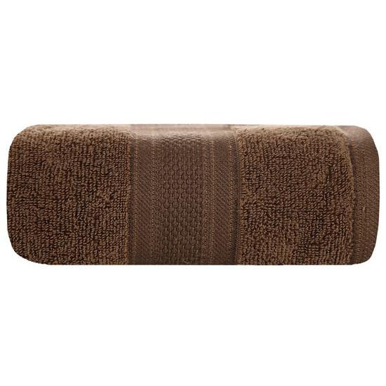 Ręcznik szybkoschnący klasyczny fason brązowy 50x90 cm - 50 X 90 cm - brązowy