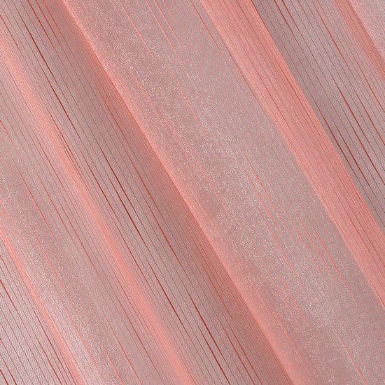 Subtelna zasłona do salonu gładka malinowa na taśmie 140x250cm - 140 X 250 cm - malinowy
