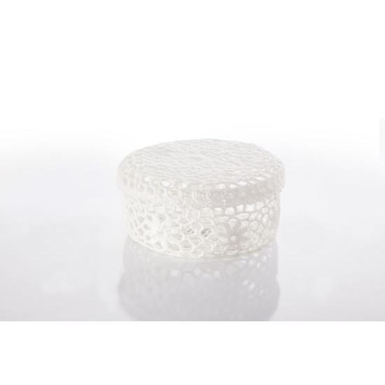 Koszyczek koronkowy 12 x 8 cm 100% bawełna - ∅ 12 X 8 cm