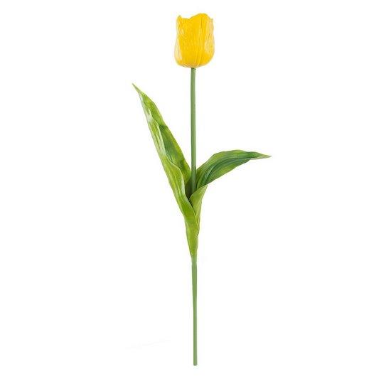 Kwiat TULIPAN ŻÓŁTY 63 cm -  - żółty