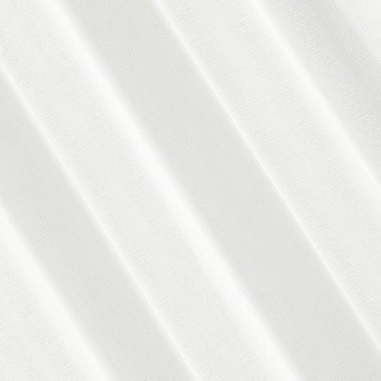 Firana kremowa 140 x 250 cm na przelotkach - 140 X 250 cm