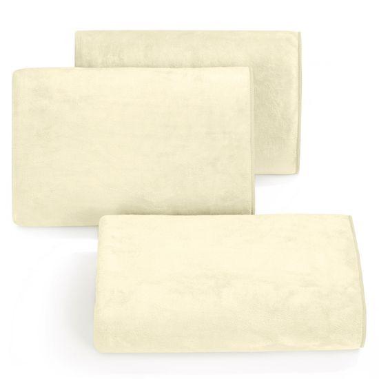 Ręcznik z mikrofibry szybkoschnący kremowy 70x140cm  - 70 X 140 cm - kremowy