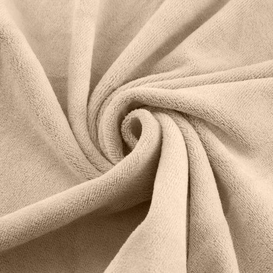 Ręcznik z mikrofibry szybkoschnący beżowy 70x140cm  - 70 X 140 cm - beżowy