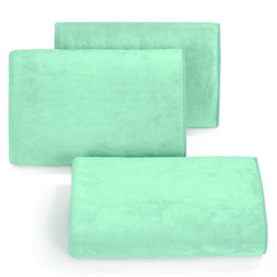 Ręcznik z mikrofibry szybkoschnący jasnoturkusowy 50x90cm  - 50 X 90 cm