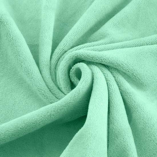 Ręcznik z mikrofibry szybkoschnący jasnoturkusowy 50x90cm  - 50x90