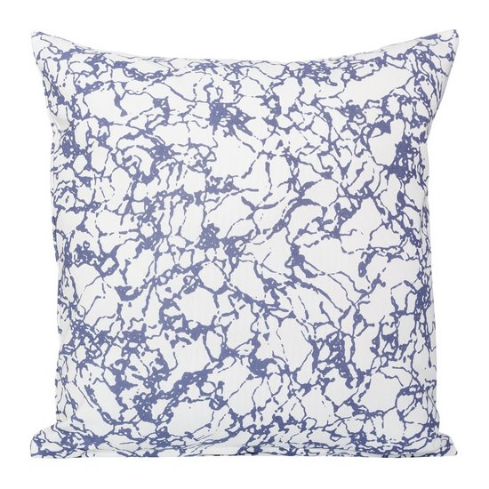 Poszewka ze wzorem marmur biało-fioletowy 40 x 40 cm - 40 X 40 cm