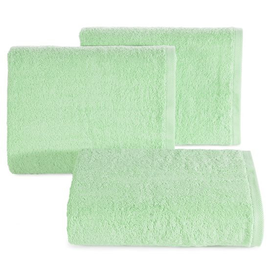 Ręcznik bawełniany gładki miętowy 50x90 cm - 50 X 90 cm
