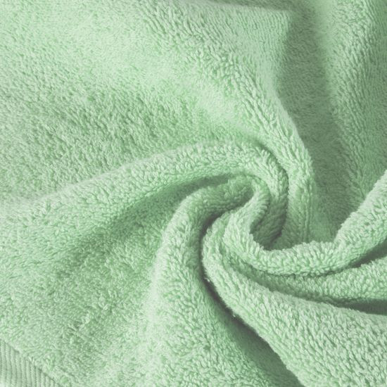 Ręcznik bawełniany gładki miętowy 50x90 cm - 50x90