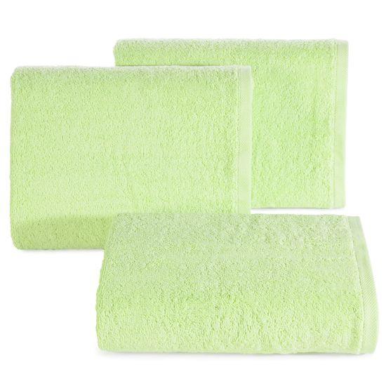 Edycja limitowana gładki ręcznik kąpielowy jasna mięta 50x90 cm - 50 X 90 cm