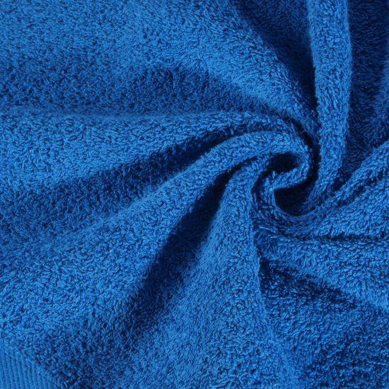 Ręcznik bawełniany gładki ciemny niebieski 30x50 cm - 30x50