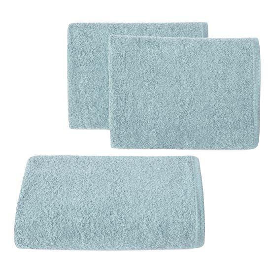 Gładki ręcznik kąpielowy miętowy 50x90 cm - 50 X 90 cm