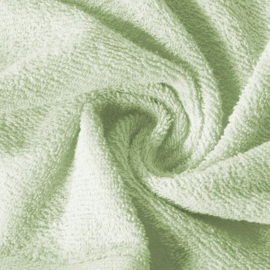 Ręcznik z bawełny gładki lemonowy 50x90cm - 50x90