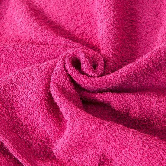 Ręcznik bawełniany gładki amarantowy 30x50 cm - 30x50 - amarantowy